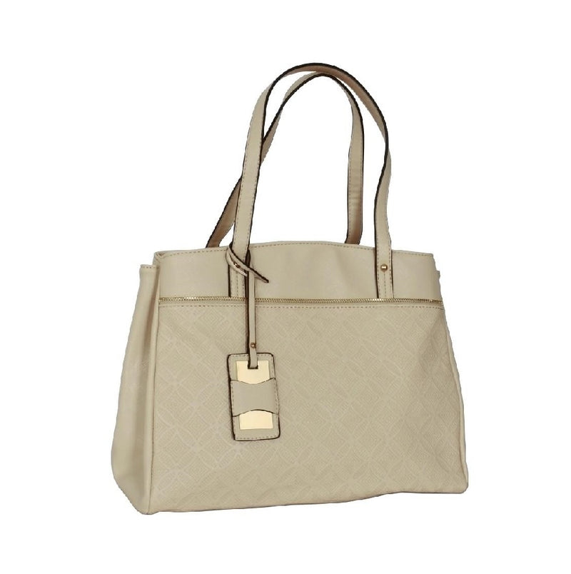 Avenue Faux Leather Handbag Oyster 2