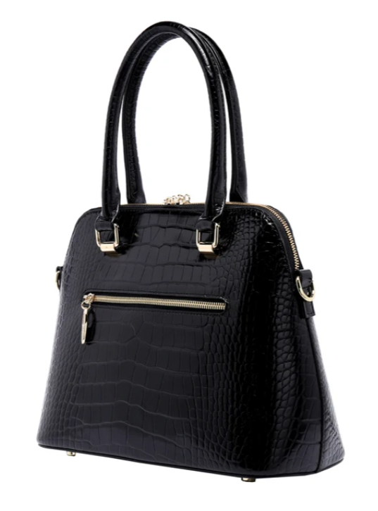 Serenade Beverly Hills Lydia Leather Bag Black