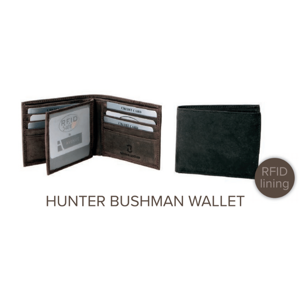 Avenue Hunter Leather Bushman Wallet