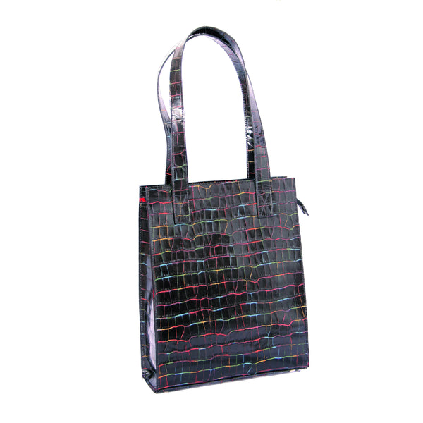 Hinemoa Makiri Large Tote Bag Black