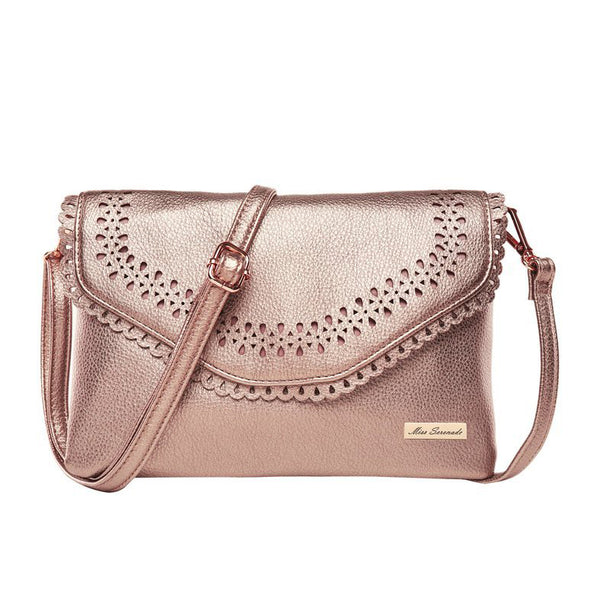Miss Serenade Mimi Cross Body Bag Rose Gold