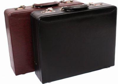 Avenue The Executive Leather Business Case Black