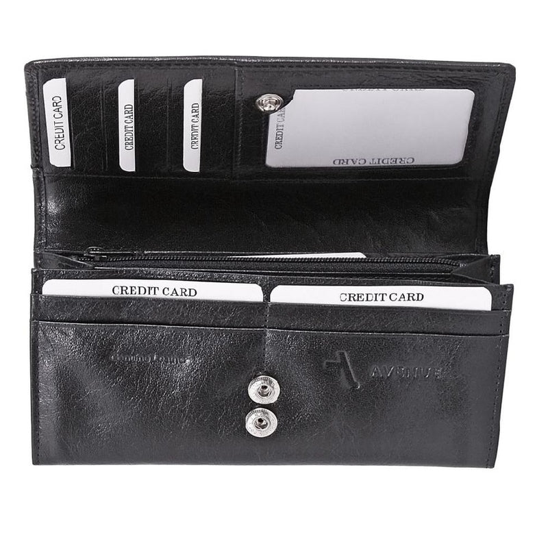 Avenue Ladies Leather Wallet Large