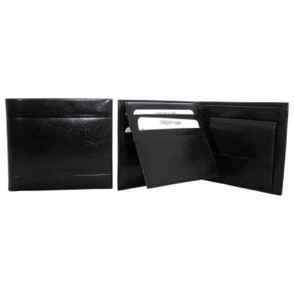 Avenue Men's 'eminent' Leather Wallet Black