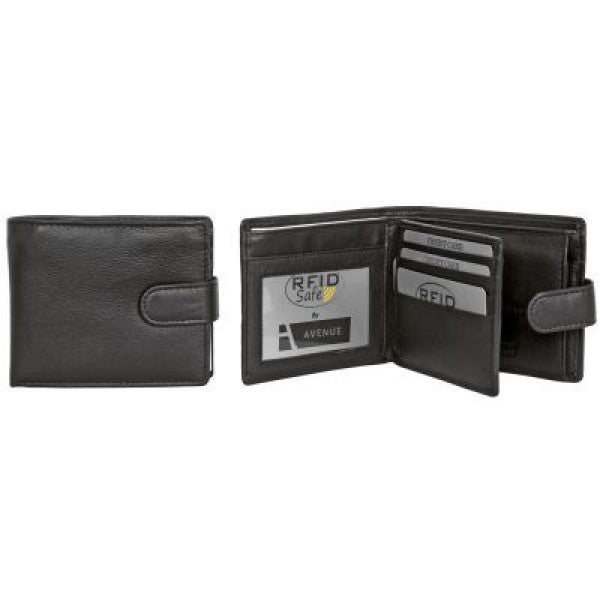 Avenue Men's Leather Wallet The M.c.