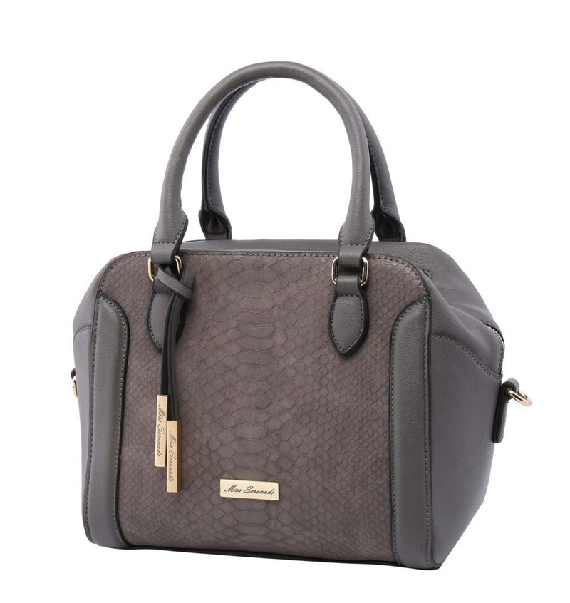 Miss Serenade Mila Handbag Grey