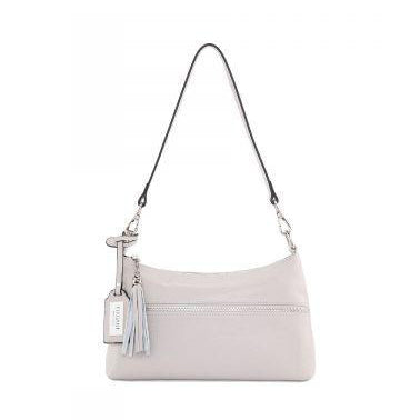 Serenade Ruth Elegant Leather Handbag Pebble