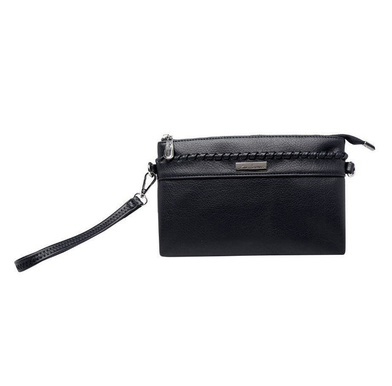 Miss Serenade Poppy Cross Body Bag Black