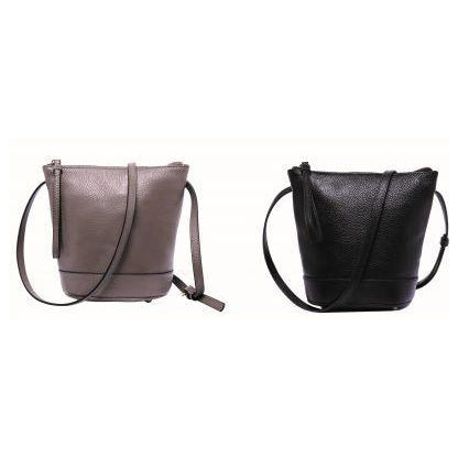 Serenade Jenna Elegant Leather Bag Black
