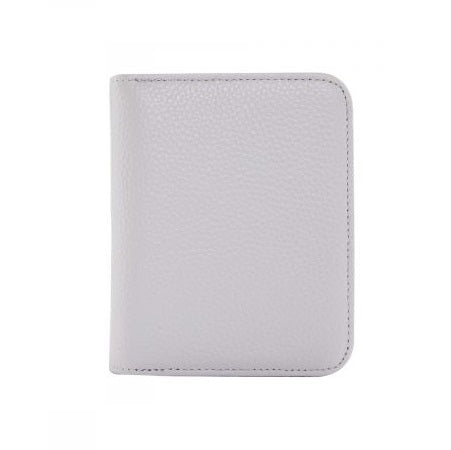 Serenade Elegant Leather Wallet Pebble