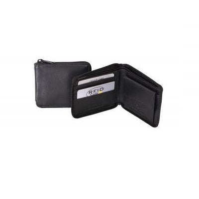 Avenue The Lawyer Zip Leather Wallet