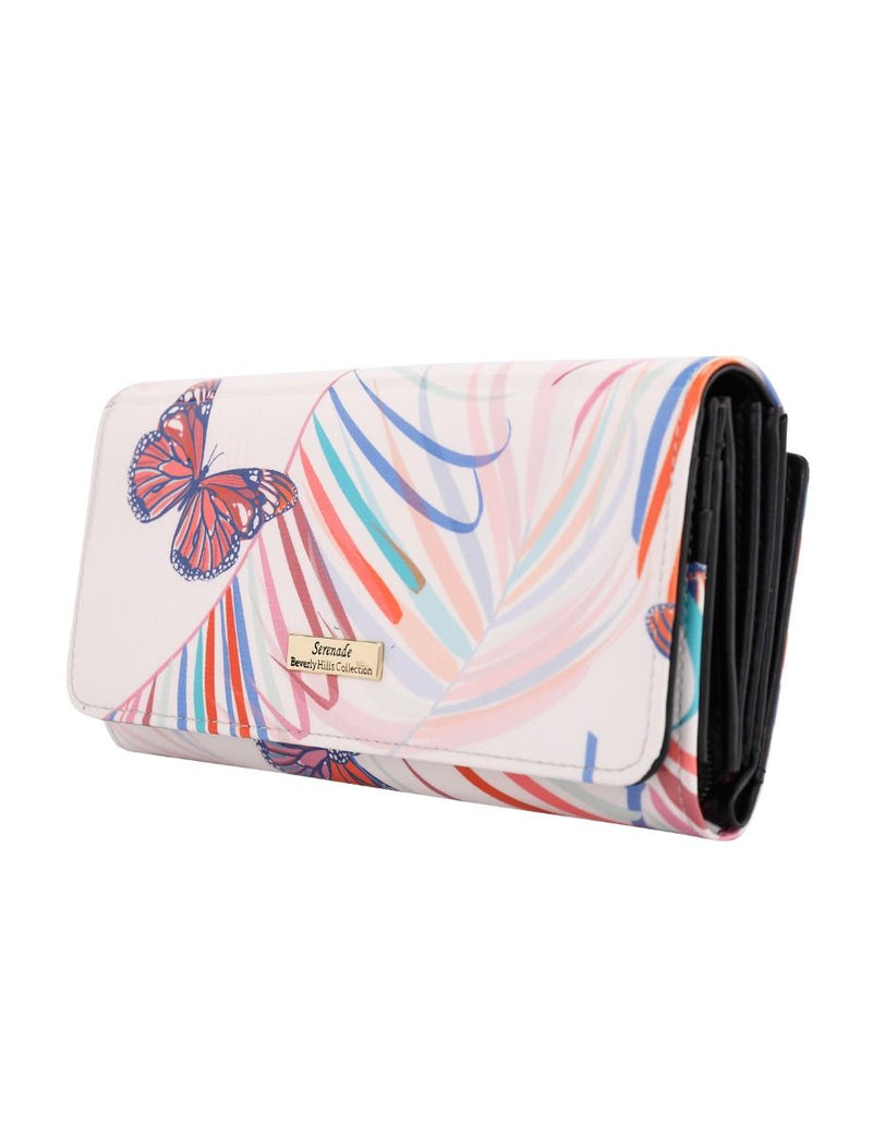 Serenade Summer Days Leather Wallet Large