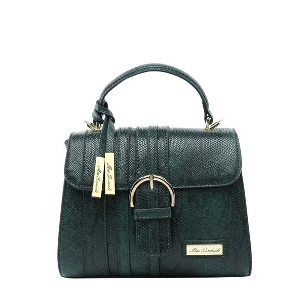 Miss Serenade Gracie Handbag Green