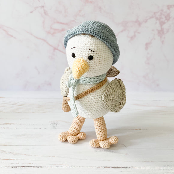 Chip the Seagull Crochet Pattern