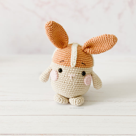 Hot Cross Bunny Crochet Pattern