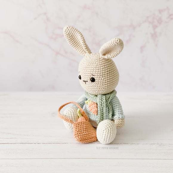 Benny the Bunny Crochet Pattern