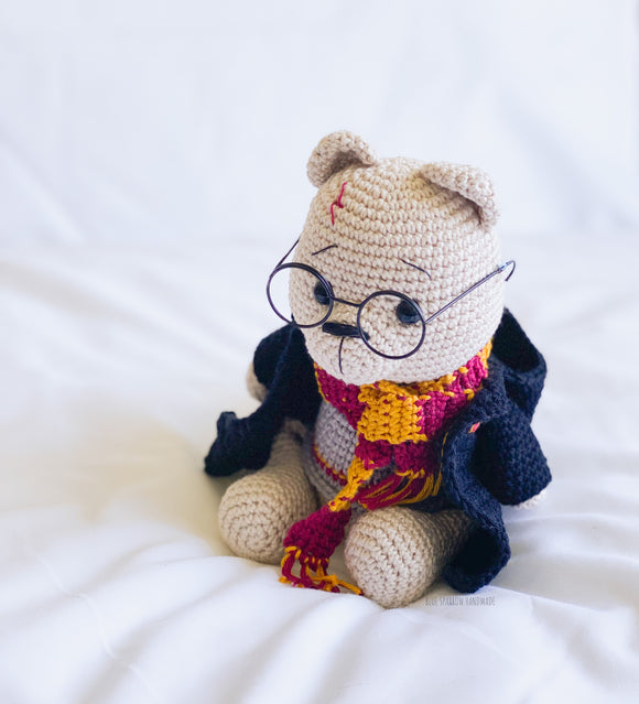 Harry the Wizard Bear Crochet Pattern