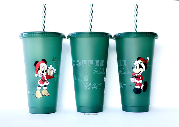 Disney Christmas Starbucks Tumbler