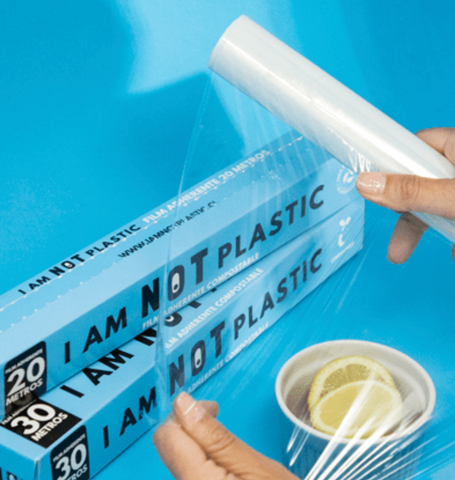 Film adherente compostable