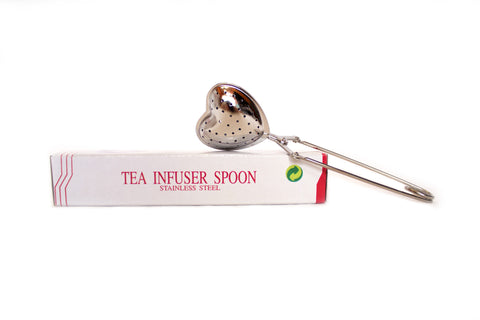 Tea Infuser Heart Spoon