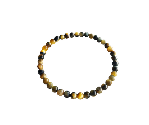 4mm Tiger Eye Bracelet