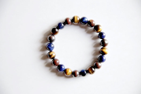 Blue Red Tiger Eye