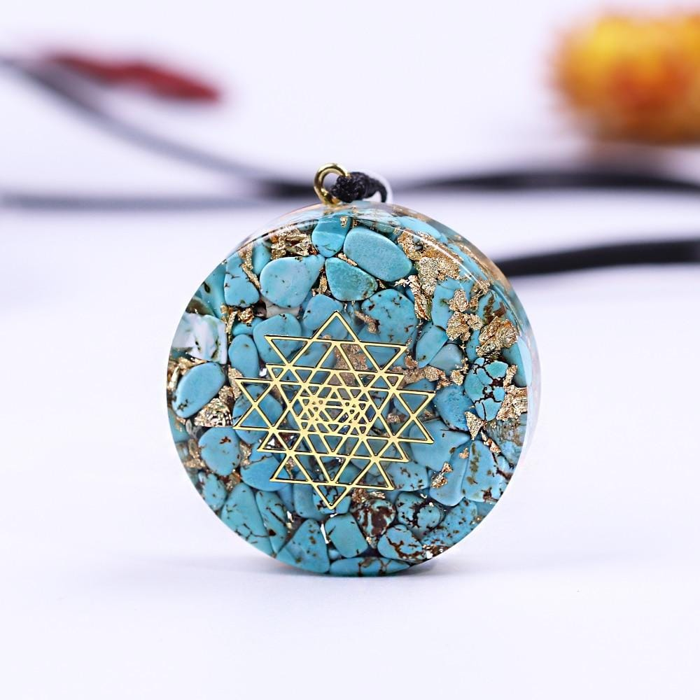 Orgonite Energy Crystal Pendant