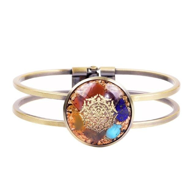 Orgonite Bangle Chakra Bracelet