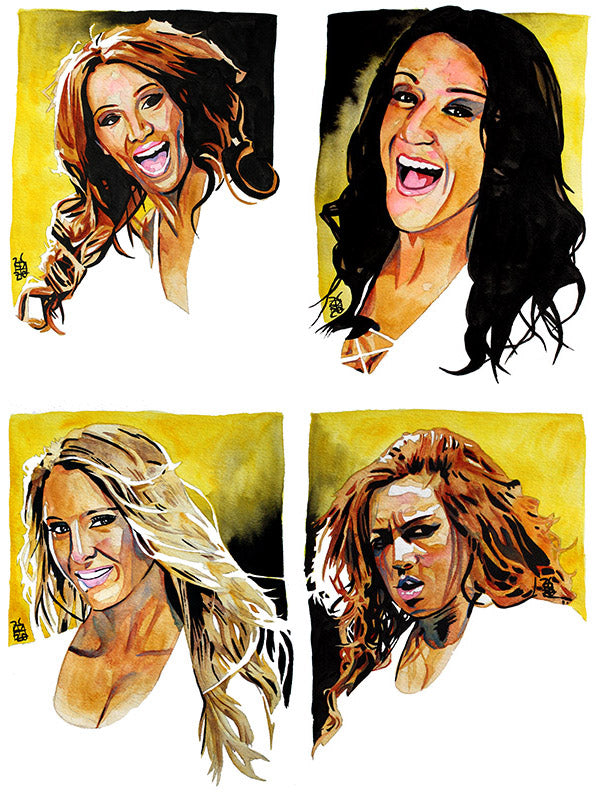 SELECT SERIES: NXT Four Horsewomen Edition