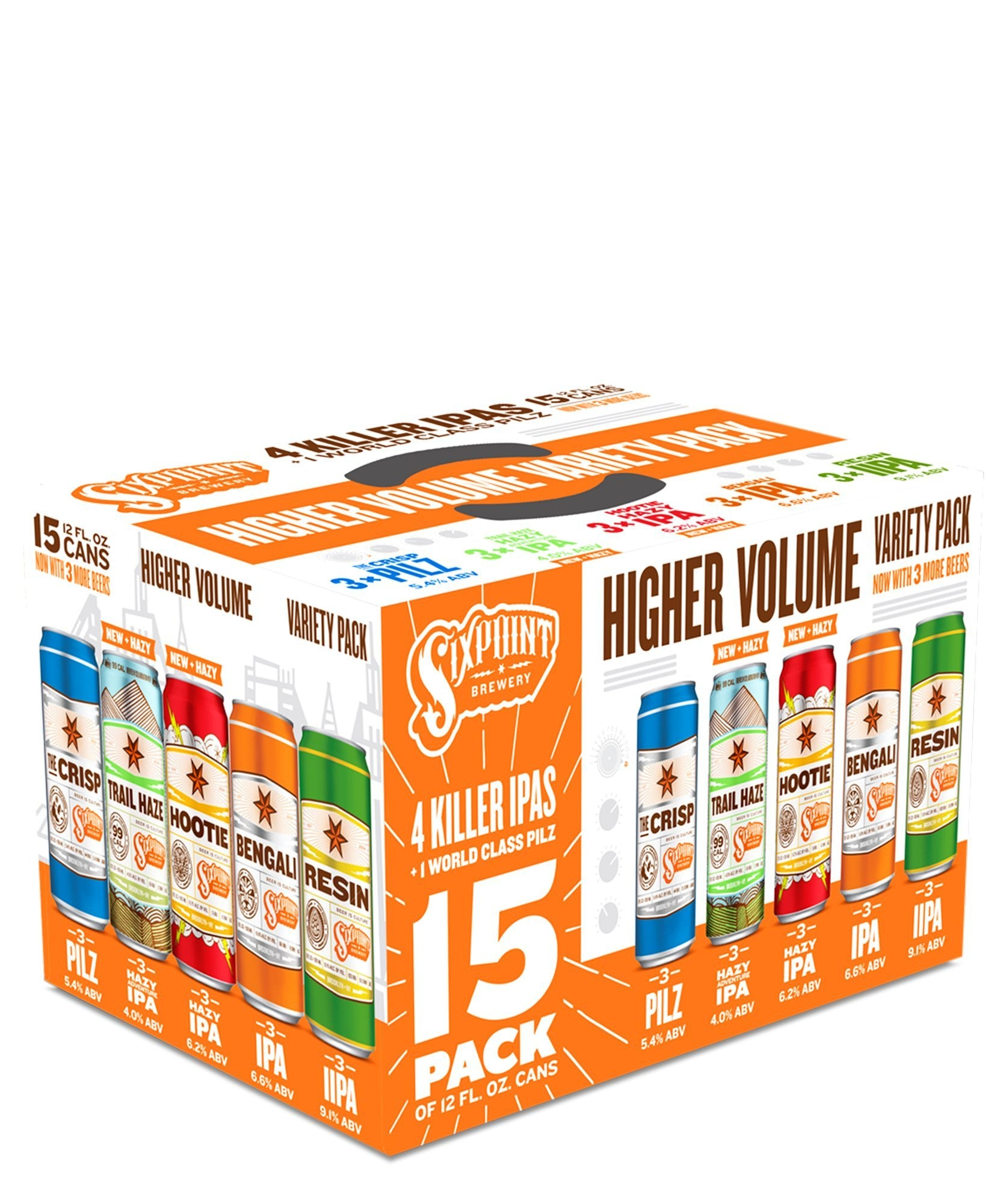 Higher Volume - Sixpoint Brewery Delivered By TapRm