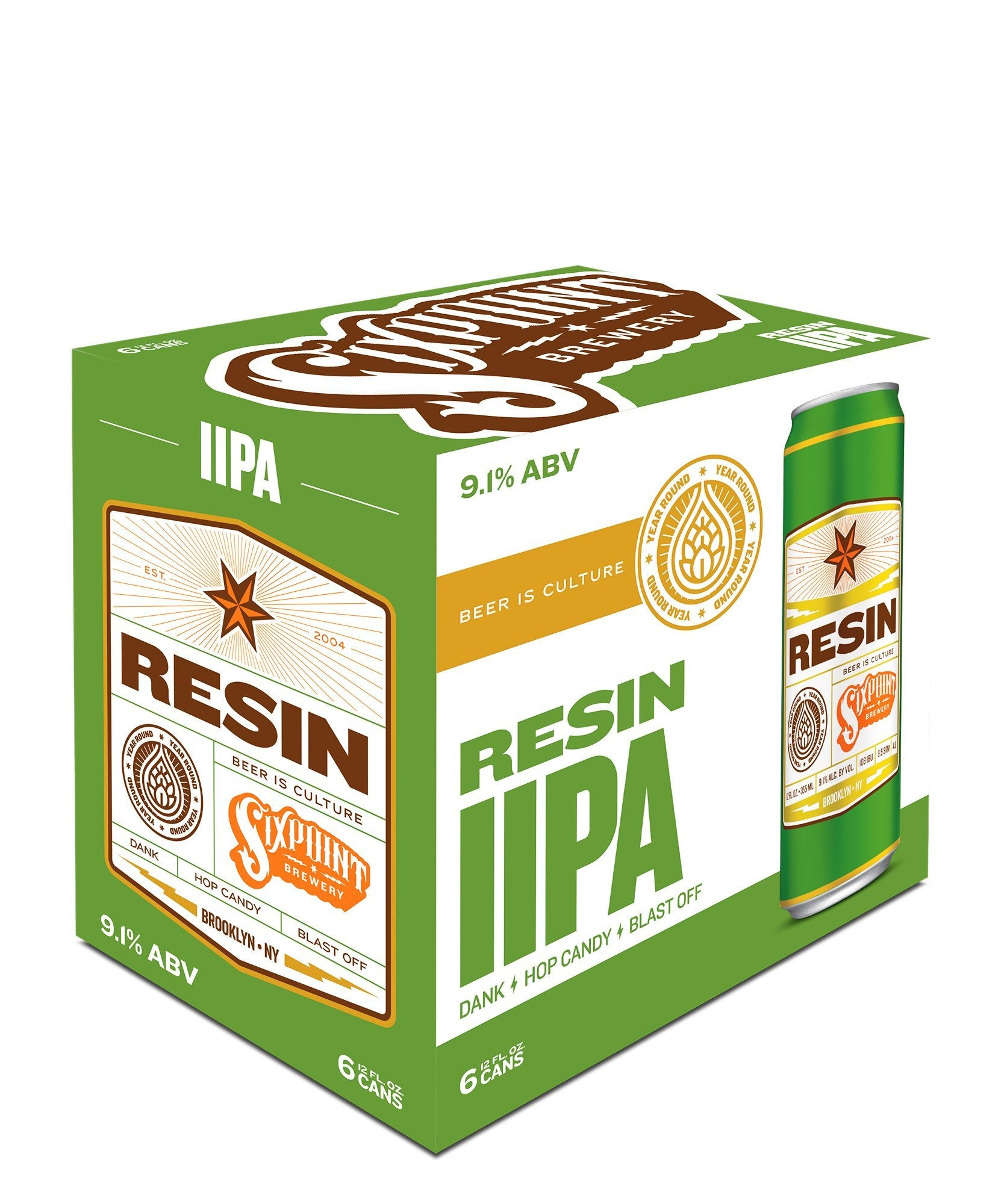 Resin - Sixpoint Brewery Delivered By TapRm
