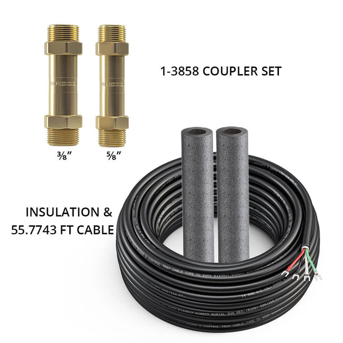MRCOOL DIY 3/8 X 5/8 Coupler w/ 50 ft of Communication Wire