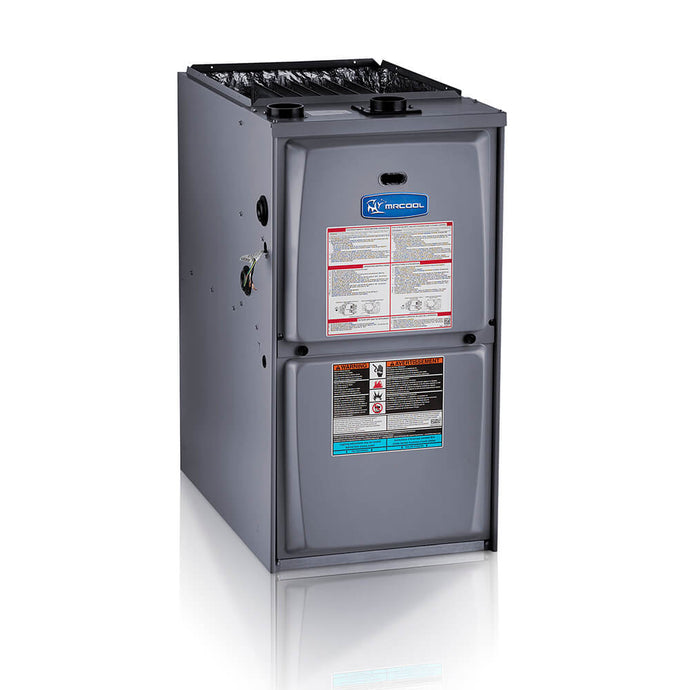MRCOOL 80% AFUE 5 Ton 135,000 BTU Upflow/Horizontal 5-Speed Gas Furnace