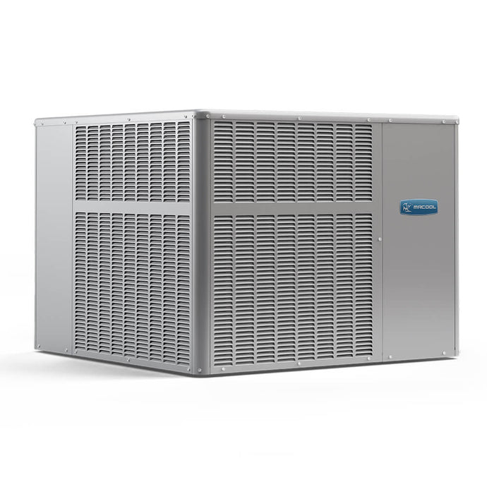 MRCOOL 3.5 Ton 14 SEER R-410A 90,000 BTU Heat Horizontal or Down Flow Package A/C and Gas