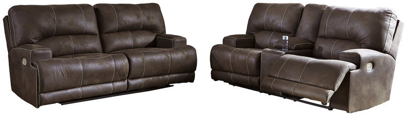 Kitching Signature Design Contemporary 2-Piece Living Room Set