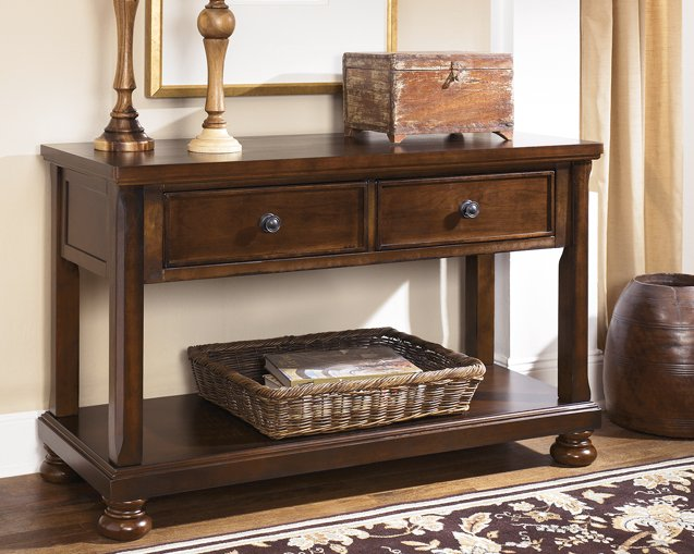 Porter Signature Design by Ashley Sofa Table