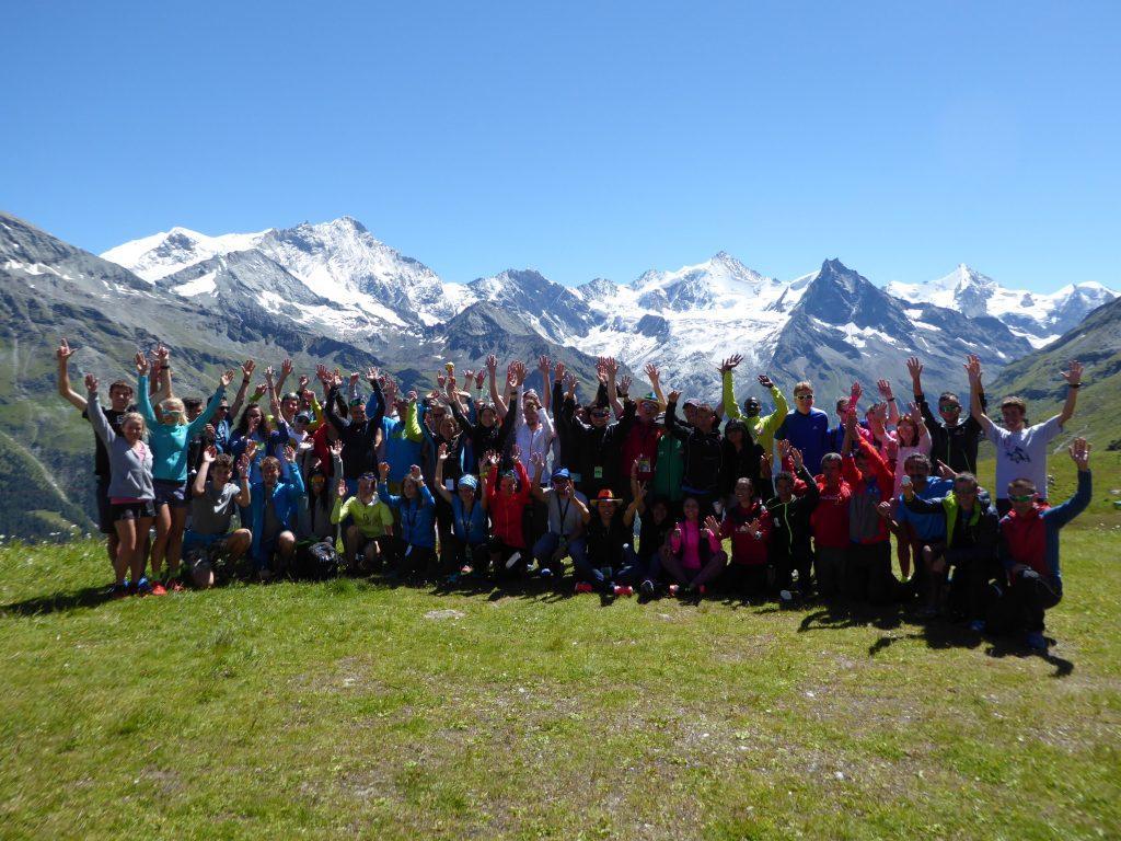 Group of Invited Runners, Sierre-Zinal 2016