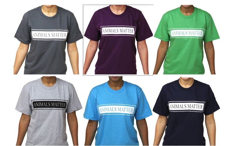 Animals Matter® T-Shirts Benefit Animal Welfare