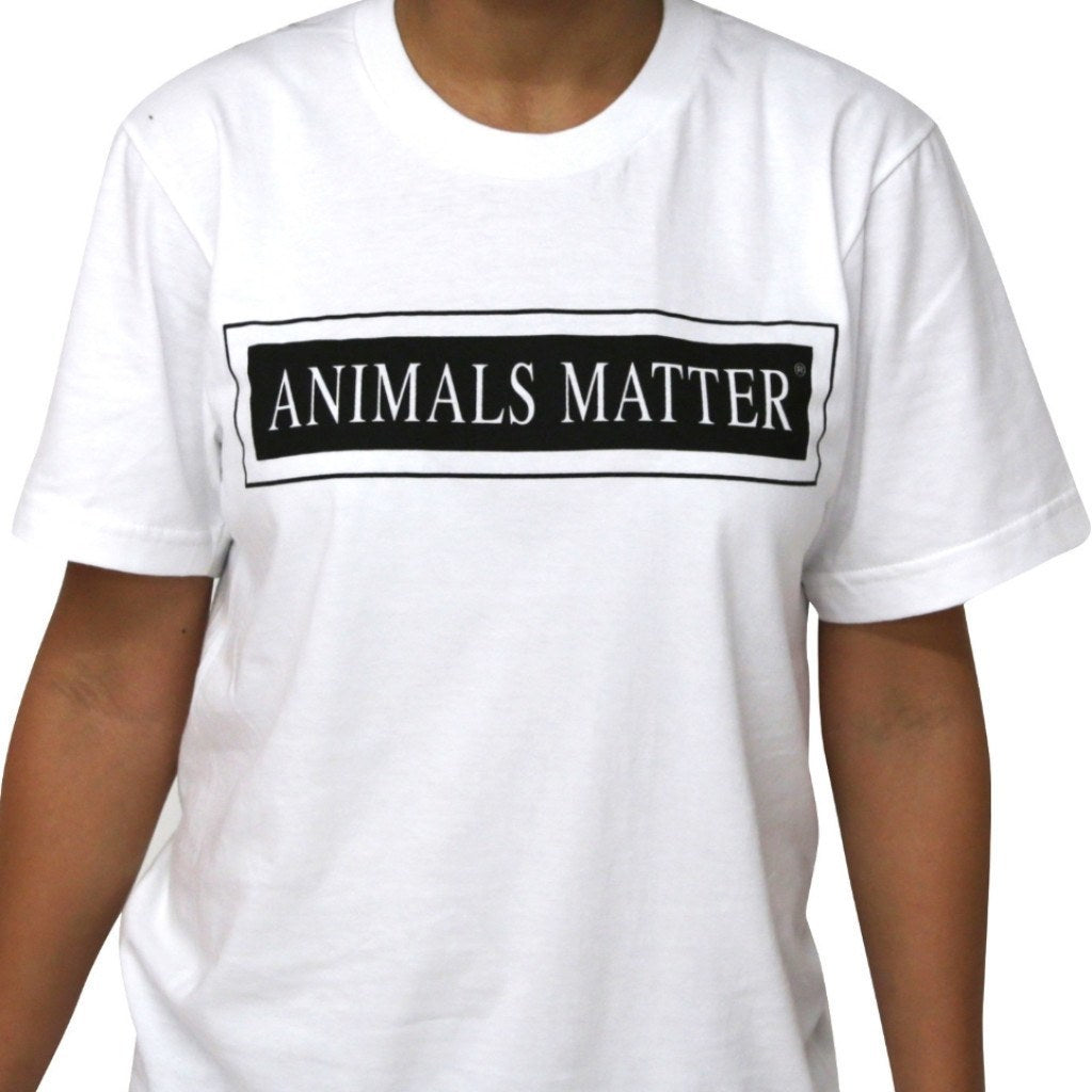 Animals Matter® Crew Neck T-Shirts - Animals Matter - 1