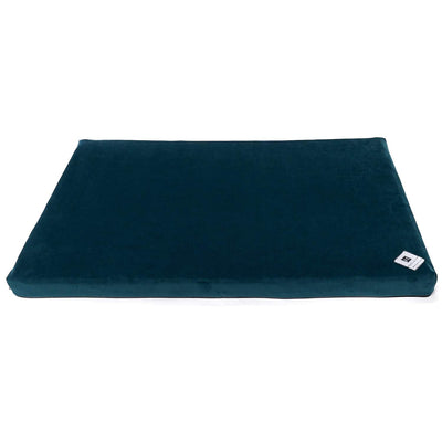 Animals Matter Ali Jewel Celsion Water Proof Latex Crate Pad Emerald Teal Luxury Dog Bed