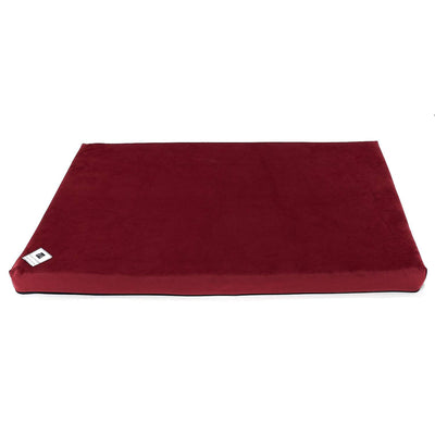 Animals Matter Ali Jewel Celsion Water Proof Latex Crate Pad Ruby Red Luxury Dog Bed