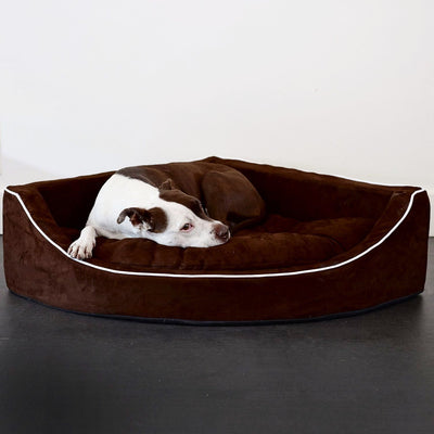 Animals Matter Chocolate Corner Lounger