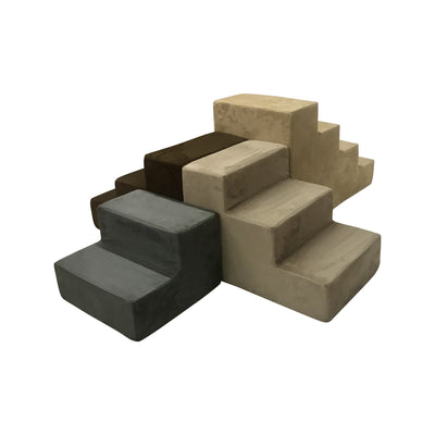 Animals Matter Companion Stairs Collection Camel Stone Charcoal Chocolate Olive