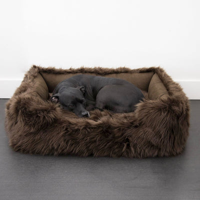 Animals Matter® Shag Lounger™ - Chocolate