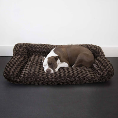 Animals Matter Katie Puff Sydney-Chocolate-Luxury Dog Bed