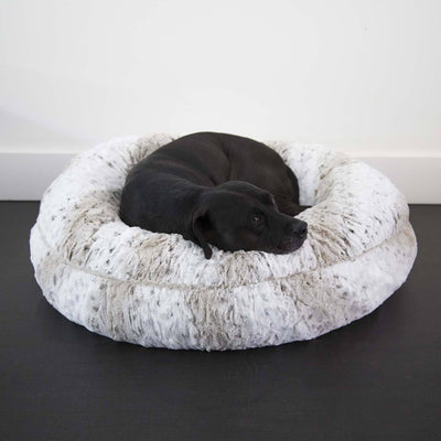 Animals Matter LA Dog Pearl Leopard Luxury Dog Bed