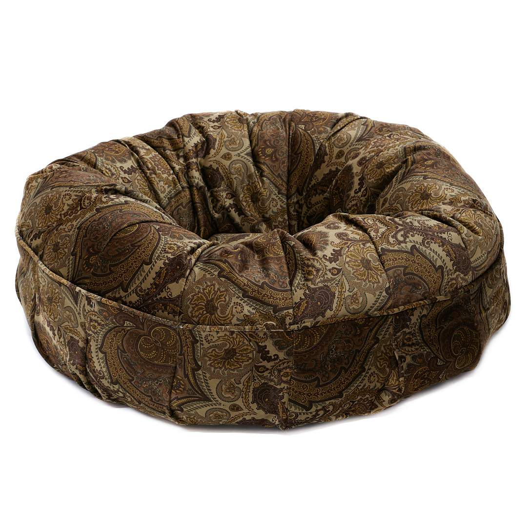 Black Friday Animals Matter® Paisley Puff™ Chocolate Paisley