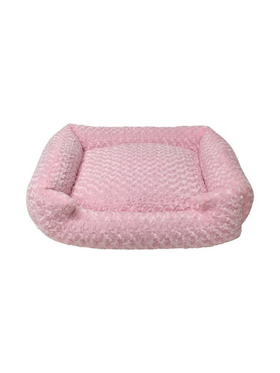 Animals Matter Katie Puff Lounger Luxury Dog Bed Pink