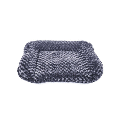 Animals Matter Katie Puff Sydney Luxury Dog Bed Charcoal