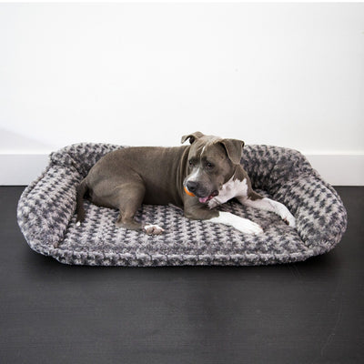 Animals Matter Katie Puff Sydney Orthopedic Luxury Dog Bed Charcoal